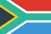 Flagge Süd-Afrika